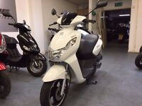 Peugeot Kisbee 50cc Automatic Scooter, Good Condition, Only 350 Deposit, 0% APR Finance Available