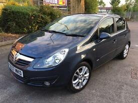 Stunning 2007 57 Vauxhall Corsa 1.2Sxi 5Dr **1 Owner+Only 64000+1 Years Mot+Low Insurance**