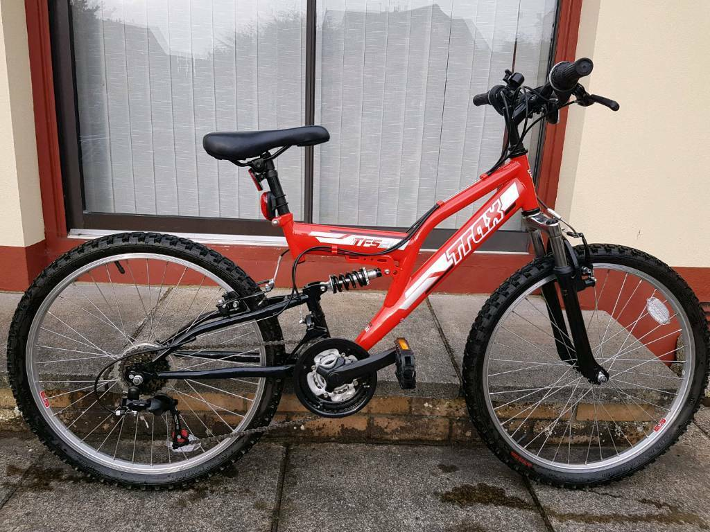 "Kids / Childs Trax 24"" bike red"