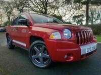 April 2010 Jeep Compass 2.0 CRD 4X4 Limited! Top Spec! Heather Leather! ONLY 51000 MILES! Finance!!