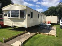 Deluxe 3 Bedroom Caravan for Hire at Haggerston Castle for October Half Term Holidays
