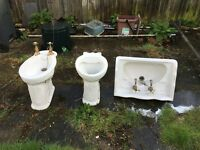Victorian Style Bathroom suite - been stored