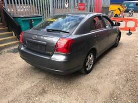 54 plate Toyota Avensis O/S/F right drivers door Dark Grey Mica 1F6