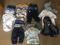 6-9 Months Boys Baby Clothes Bundle