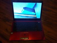 ASUS K53E Laptop For Sale. 2.1ghz i3 processor, 4gb ram, 440 gb hardrive space. £80