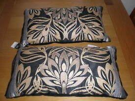 Black/ Gold patterned Cushions
