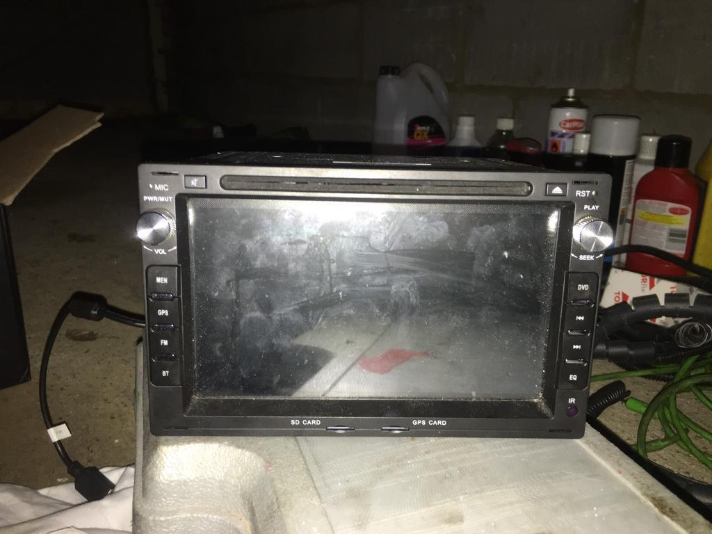 Xtrons touch screen radio for mk4 Golf