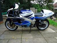 SUZUKI 750 SRAD 1997 PT/EX CONSIDERED CLASSIC 70'S/80'S BIKE COLLECT STOCKPORT £1100 ono