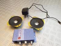 Hi-fi Stereo Speaker Kit with Amplifier