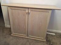 Solid wood lined oak sideboard