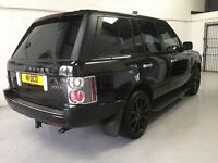 Range Rover Vogue TDV8, Black, Full MOT, Diesel