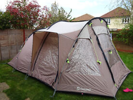 Outwell Nevada M - 5 Man Tent with Footprint and Carpet