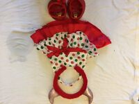 Red build a bear outfit