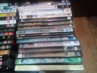 JOB LOT/ BUNDLE OF 37 DVDs & BLU-RAY,