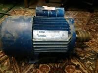 GEC Alpak 1.5kw 1ph motor working order