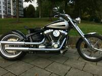 HARLEY ROCKER C CUSTOM £11995 MAKE OFFERS