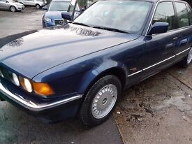 offers immaculate e32 1987 BMW 730i 1 Owner, full service history, long mot, Royal Blue. Leathers
