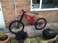 Specialized big hit 3 fsr test bike 2006
