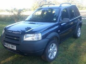 Land Rover Freelander 1.8 Blue 2003 Serengeti