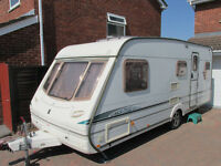 ABBEY VOGUE 418 GTS 4 BERTH FIXED BED MOTOR MOVER FULL AWNING ETC