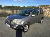 2002 02 NISSAN X TRAIL 2.0 SPORT *AUTOMATIC* 4x4 - *ONLY 90,000 MILES* - SEPTEMBER 2017 M.O.T!