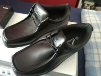 BRAND NEW - Size 10 black school shoes for sale - never use