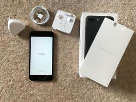 Apple iPhone 7 Plus - 32GB - Black (Unlocked) - PERFECT - SEALED ACCESSORIES.
