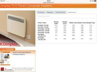 Dimplex 1500TI Electric storage heaters x 6