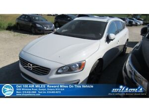 2015 Volvo V60 T6 | TURBO | AWD | LEATHER | SUNROOF | CRUISE CON