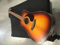 Simon & Patrick Songsmith Acoustic Guitar Sunburst
