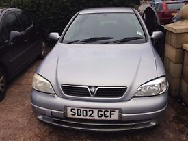 vauxhaull astra 1.7 dti 2002 model mot expired starts first time NEEDS SOME WORK DONE