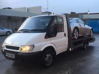 Ford Transit T350 recovery pick up flat bed drift track transporter