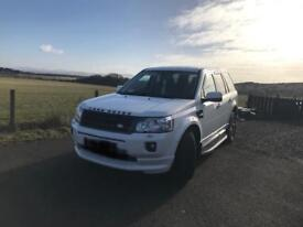 Land Rover freelander 2 2.2 le sport 2011 white 4+4