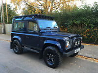 2003 Land Rover Defender 90 TD5 XS Oslo Blue