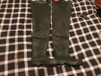 Size 6 BARBOUR waders worn twice