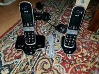 Bt 8600 twin phone with awnserphone and call blocker