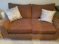2 seater sofa and a chair . Like new cheap for quick sale