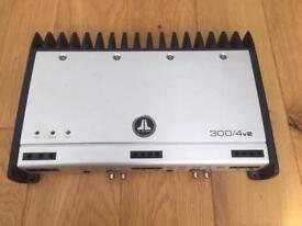JL Audio 300/4v2 4ch amplifier