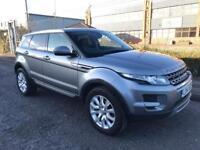***LAND ROVER RANGE ROVER EVOQUE 2.2 ED 4 PURE TECH FLRSH+SATNAV+TV's+FULL HEATED LEATHERS***£15990!