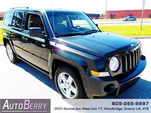 2010 Jeep Patriot Sport **CERTIFIED ACCIDENT FREE ONE OWNER**