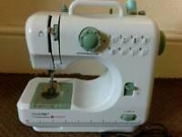 Mini singer sewing machine