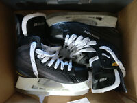 Bauer Supreme 140 Ice Hockey Boots - Size 3 - only worn once