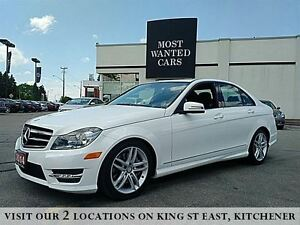2014 Mercedes-Benz C-Class C300 | 4MATIC | LANE DEPARTURE | BLIN