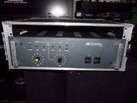 3rd Generation HP400 High Performance Dual Power Amplifier for rack mount bridgeable