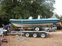 "Boat Towing Transport service Launch/Recovery ""piggyback"" system - your boat & trailer on my trailer"