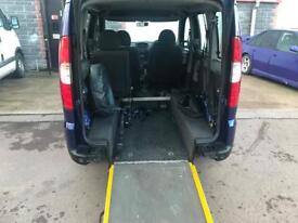 Fiat doblo 2009 wheelchair accessible disabled mobility wav ramp