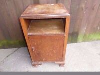 Shabby Chic Project Single Cupboard Bed side Table Delivery Available