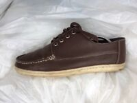 Men's Fred Perry brown leather shoes Size 8