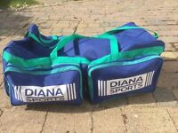 Cricket Gear with a large purpose built Large bag