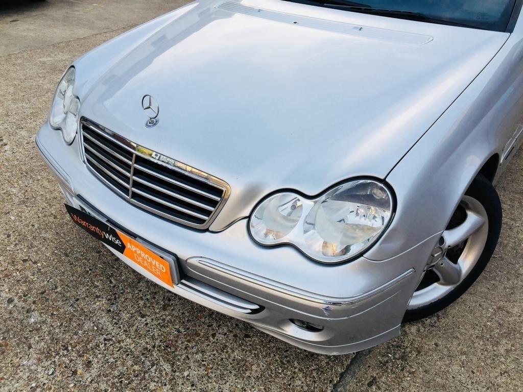 2005 Mercedes Benz C Class Automatic Leather Seats Mot April Fuel Filter Location